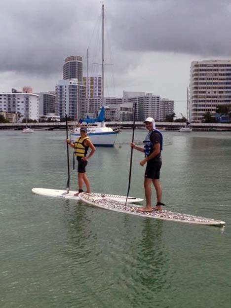 South Beach Miami SUP Lesson
