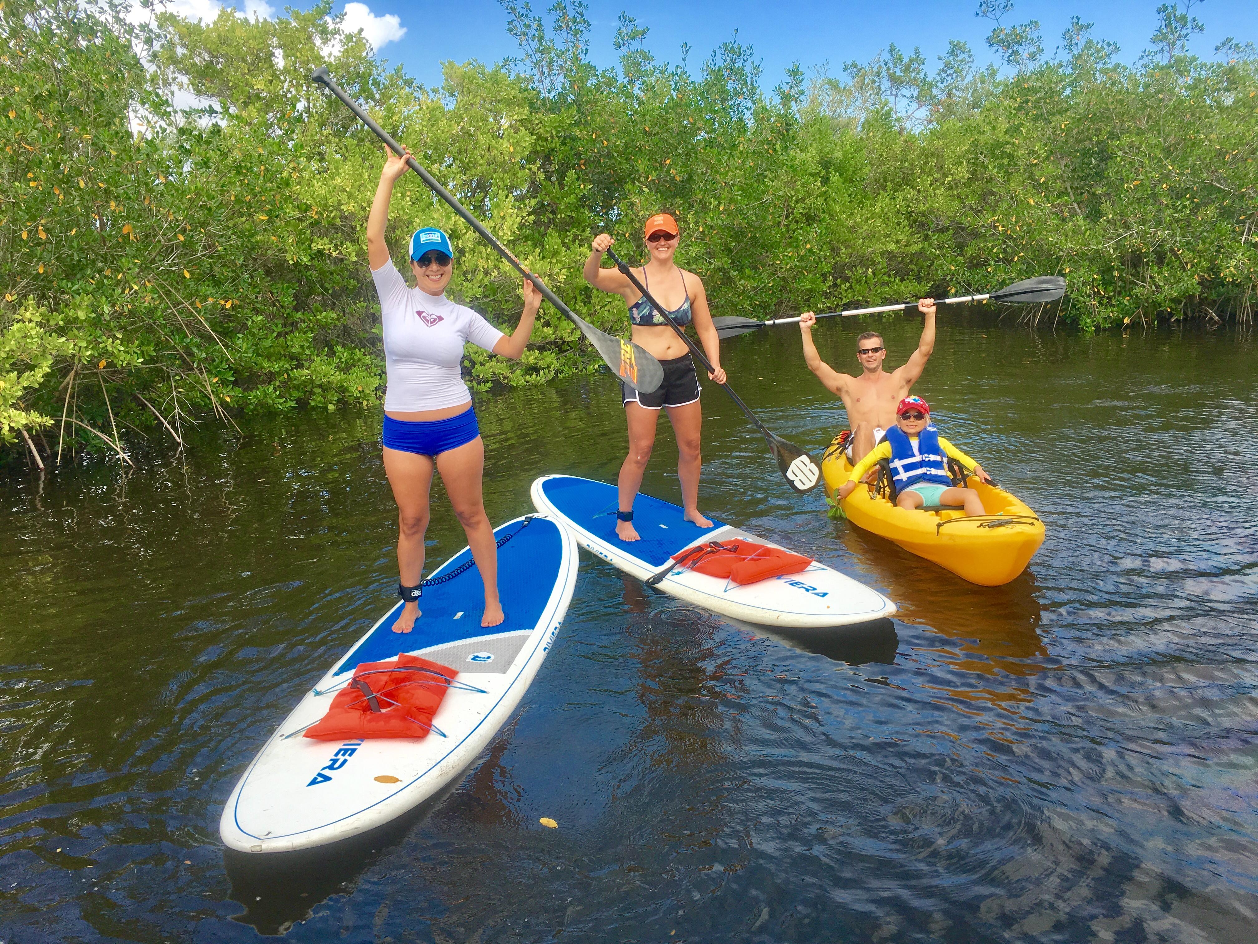 SoBe Surf Paddle Board SUP rentals Kayak Rentals Paddle Board Tours Kayak Tours Florida