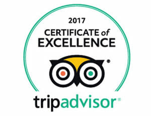 Cocoa Beach SUP Tours TripAdvisor 2017 Certificate of Excellence Award
