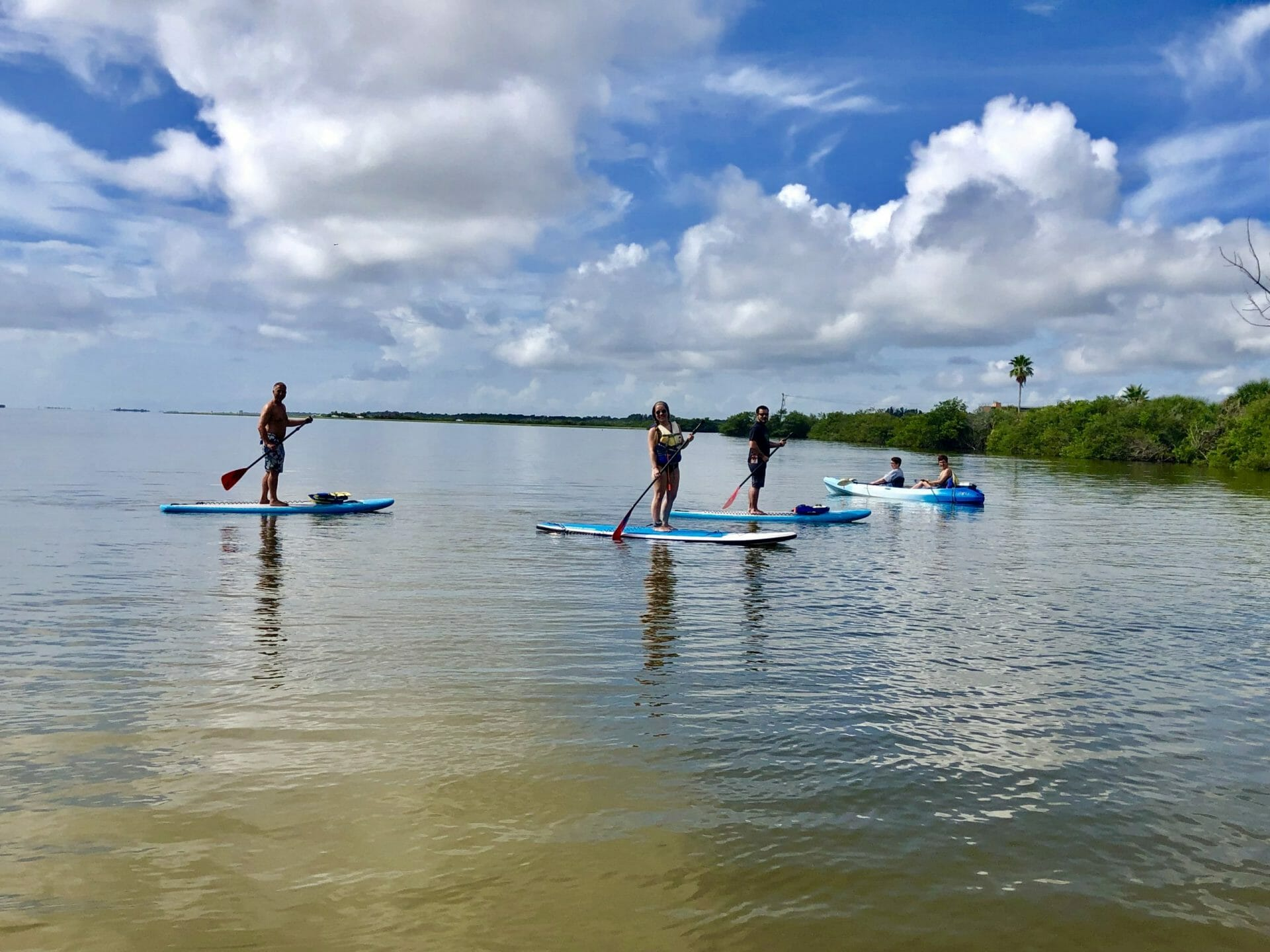 Family memories kayak tour paddle board tour SoBe Surf