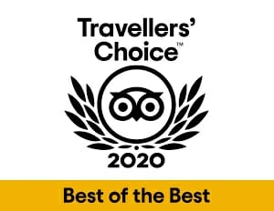 TripAdvisor 2020 Travellers' Choice Award