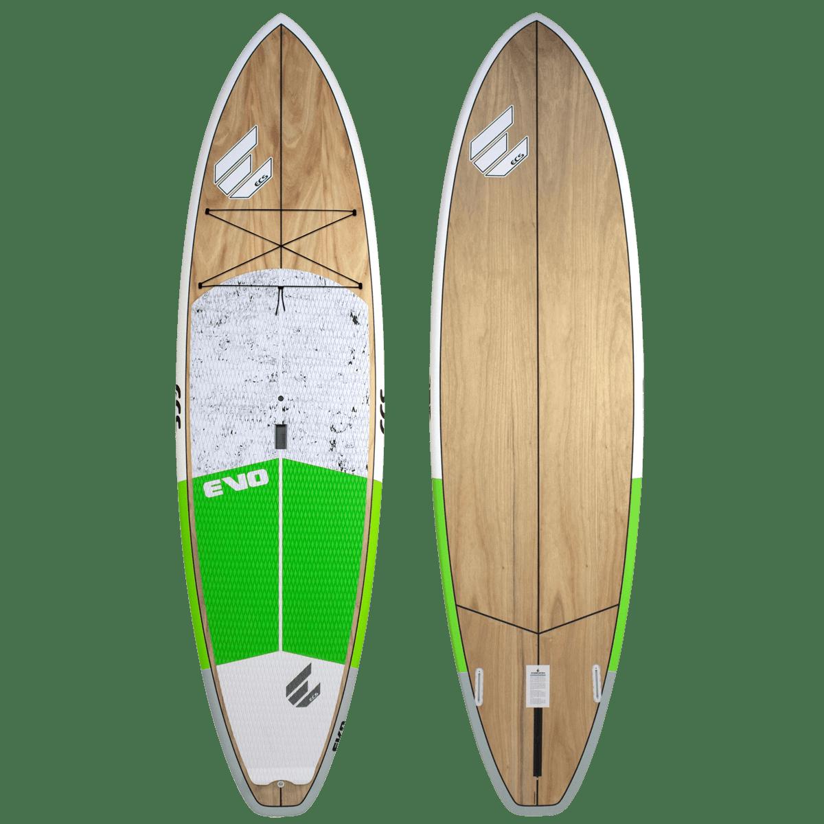 ECS Evo SUP paddle board green