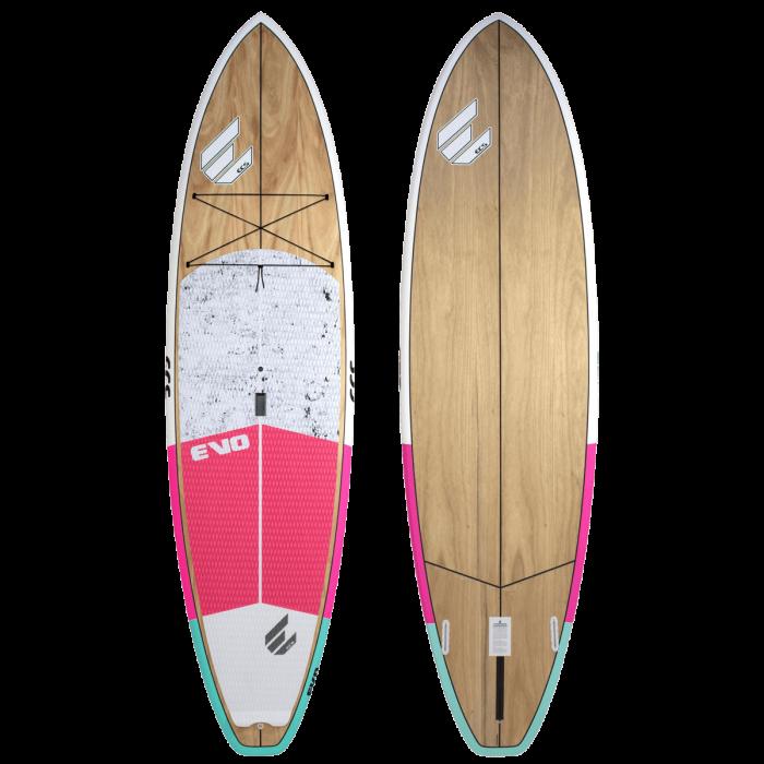 ECS Evo SUP paddle board pink