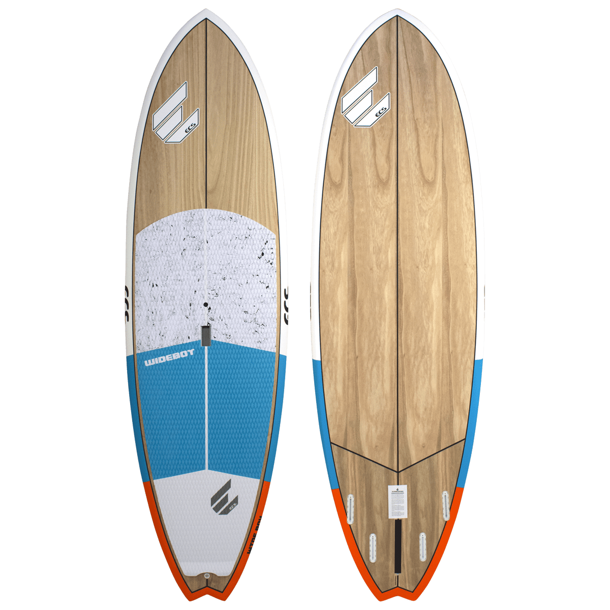 ECS Wideboy SUP paddle board blue
