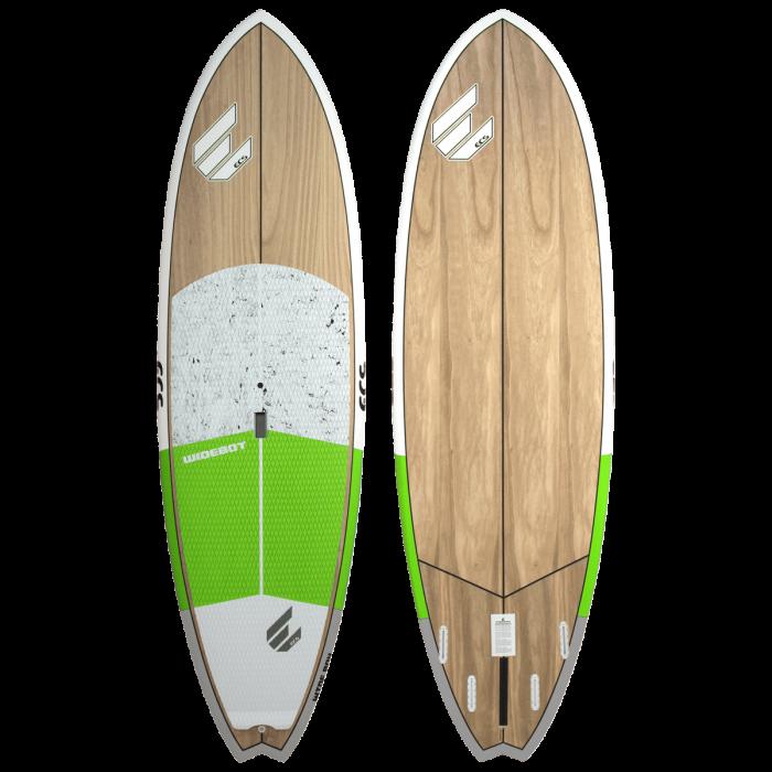 ECS Wideboy SUP paddle board green