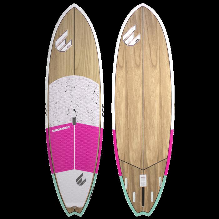 ECS Wideboy SUP paddle board pink