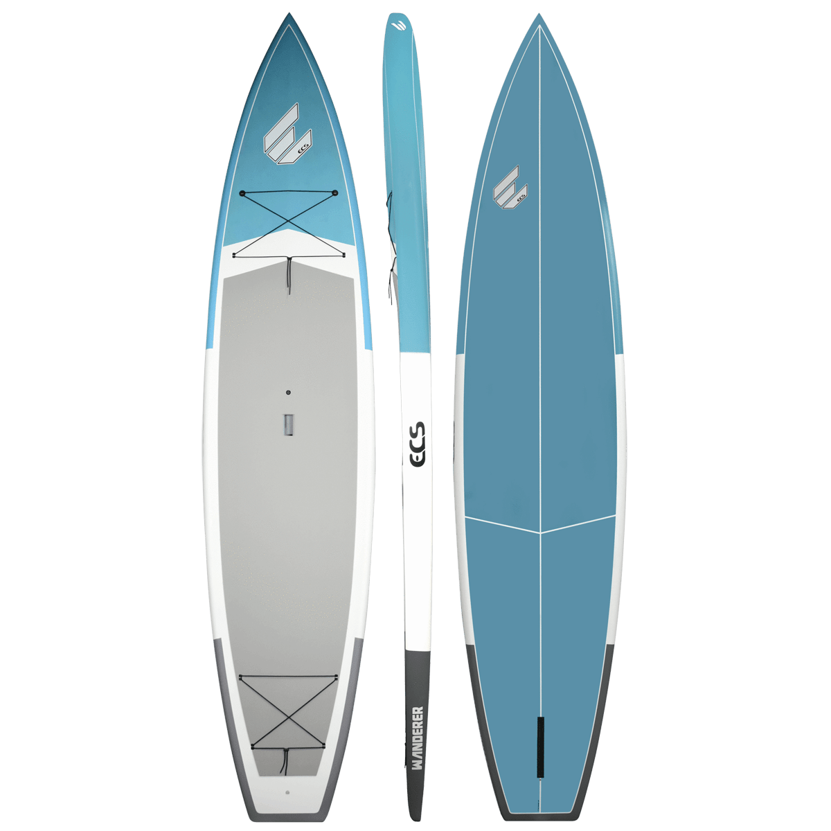 ECS SUP Wanderer paddle board blue