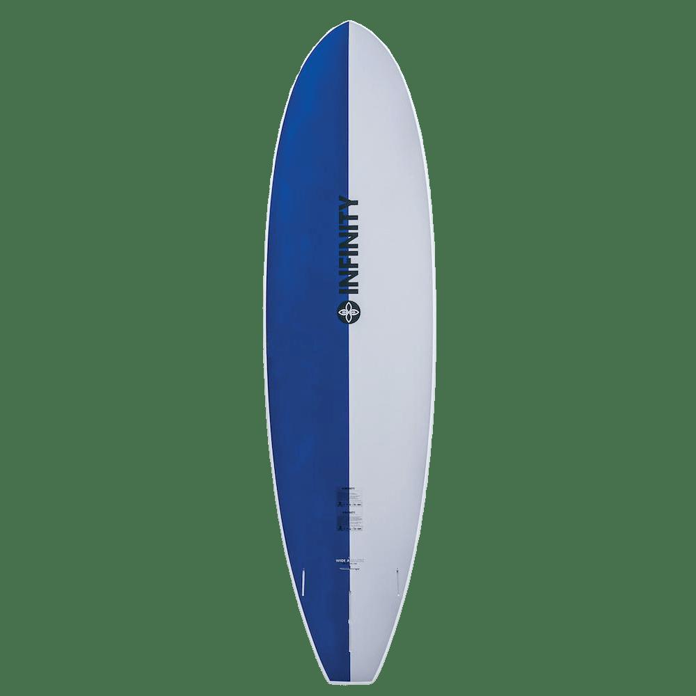 infinity sup wide aquatic blue bottom