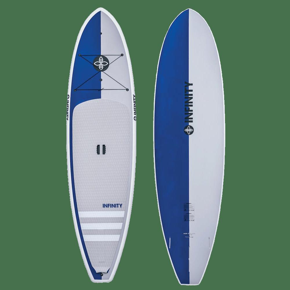 infinity sup wide aquatic blue top bottom