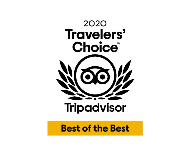 TripAdvisor 2020 Travellers' Choice Award
